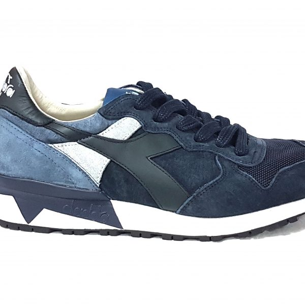 Diadora heritage trident 90s 161885 c7140 blue nights china blue n 43