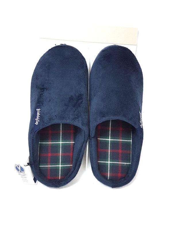 vendita a buon mercato nel Regno Unito scarpe a buon mercato fashion style De Fonseca pantofola uomo de firenze m200 blu