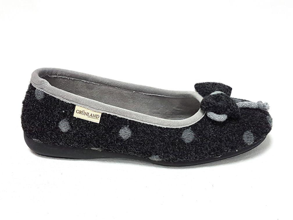 Grunland Dear Grigio Pantofola Donna Pa1023 SUzqLMGVp