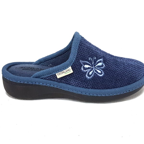GRUNLAND Pantofole donna blu Gran Venta En Línea Barata 2018 En Línea Tienda De Espacio Libre Para La Venta Footaction Descuento zr8XnQnL