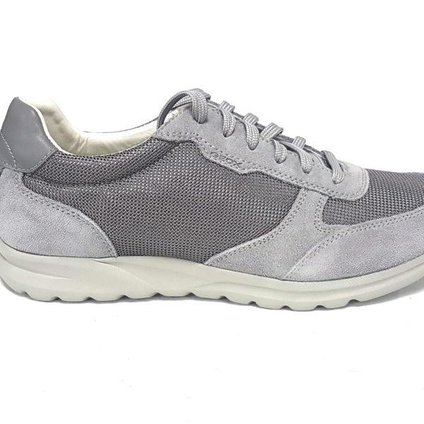 Geox sneakers uomo damian u820hc stone n 42