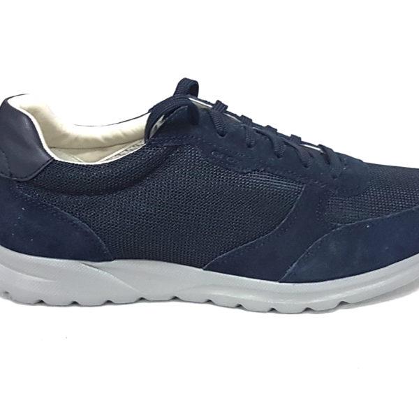 Geox sneakers uomo damian u820hc blu n 45