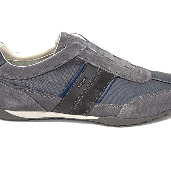 Geox sneakers uomo wells u82t5a dk grey n 43