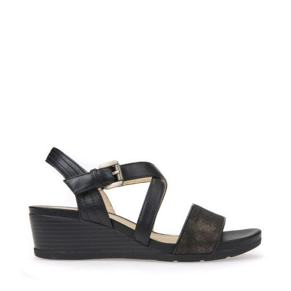 Alta qualit Sandalo Geox Donna D828QA Black