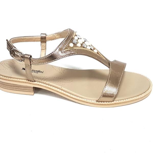 Nero Giardini sandali donna 805802 platino n 39