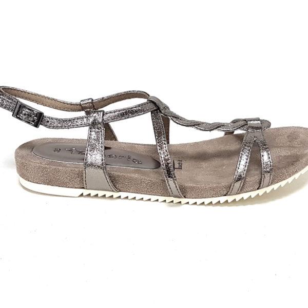 Tamaris sandali donna 28602 pewter n36