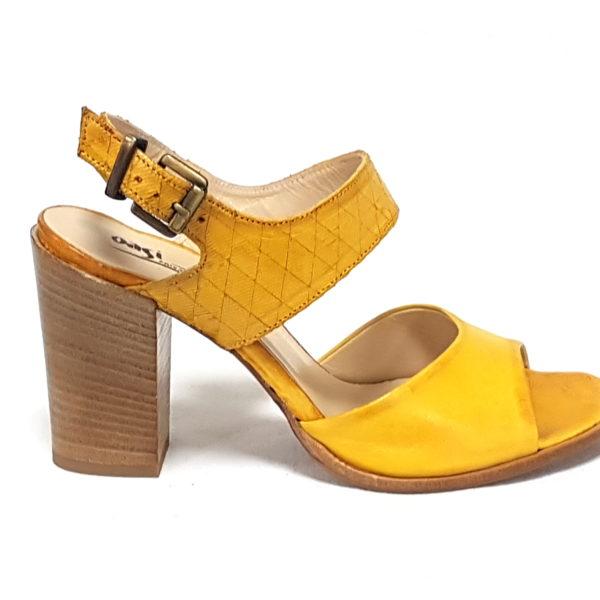 sandali Oasi Calzature donna 433 giallo Mai uKTFc3lJ1