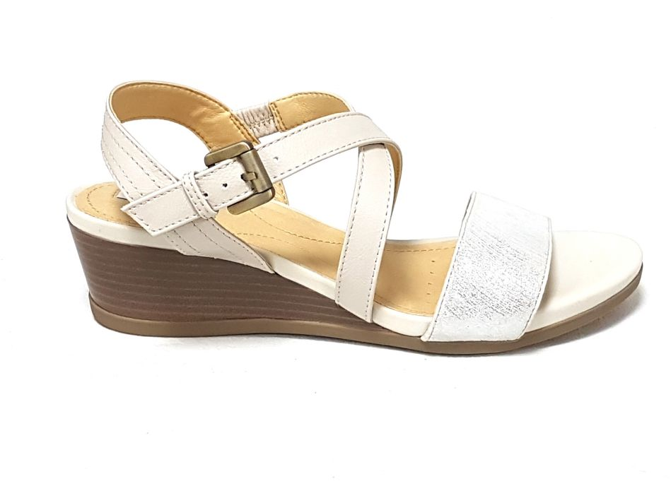 Geox sandali donna d828qa marykarmen off white n 39
