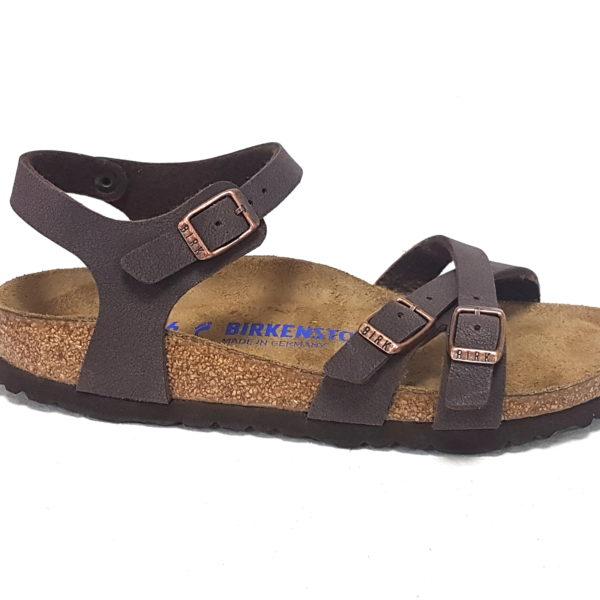 Birkenstock sandali donna Kumba brushed habana - Calzature Mai 4b2cb1f63bc