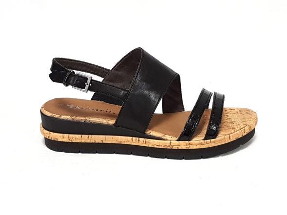 Tamaris sandali donna 28205 nero n41