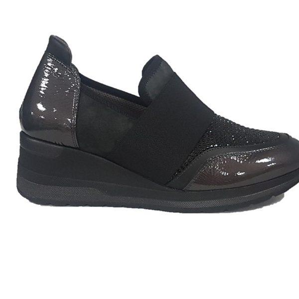 finest selection 06567 26eac Melluso walk sneaker donna r25515 grigio