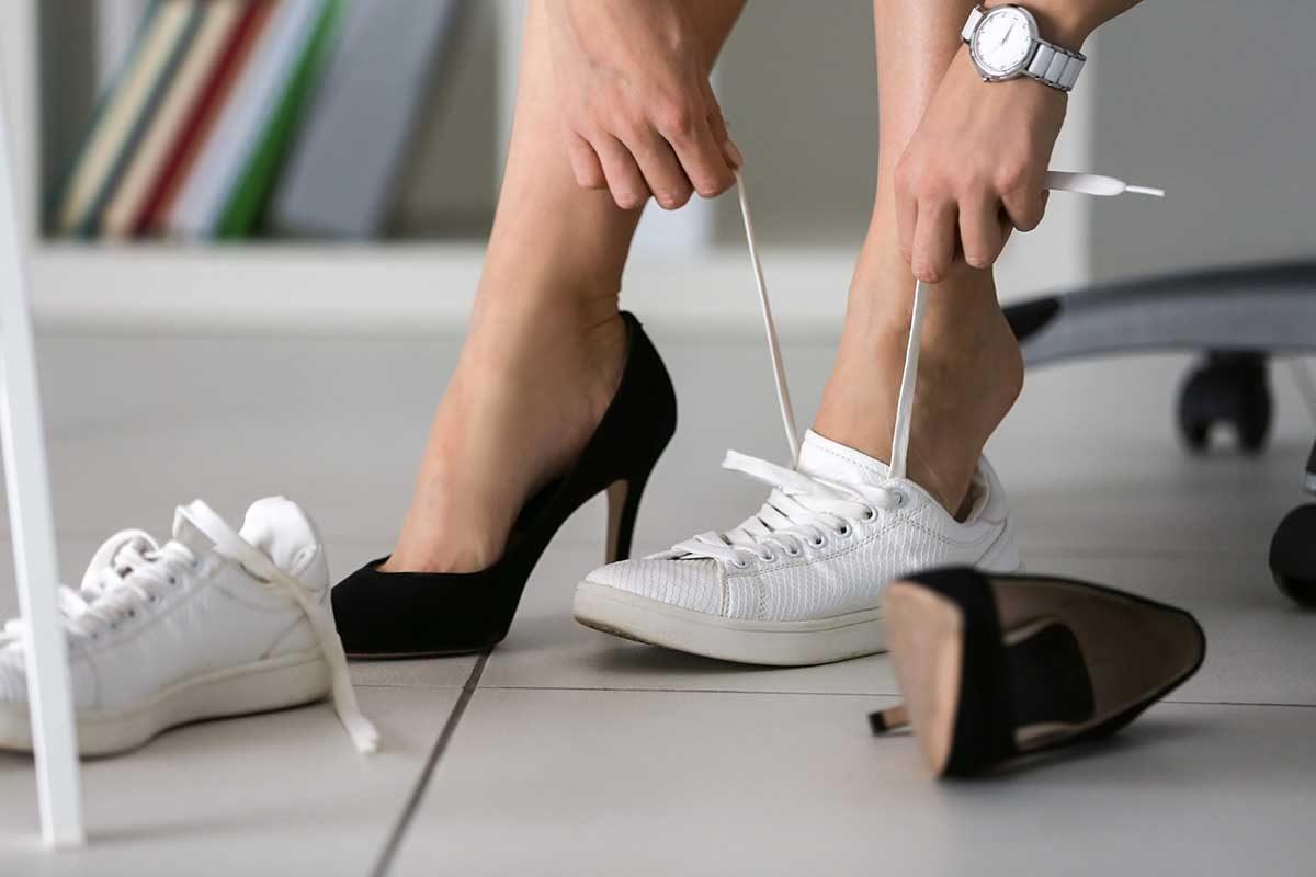che scarpe indossare in ufficio