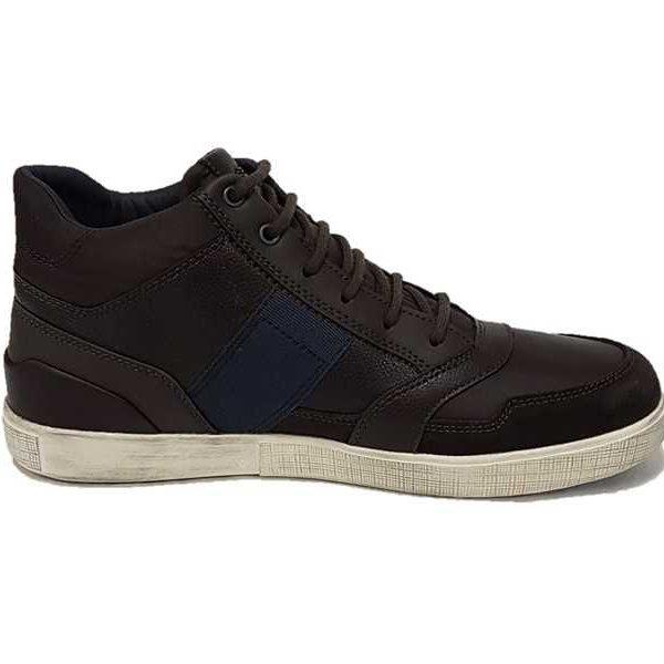 Geox sneaker uomo amphibiox u841uc dk coffee - Calzature Mai b7b47cea351