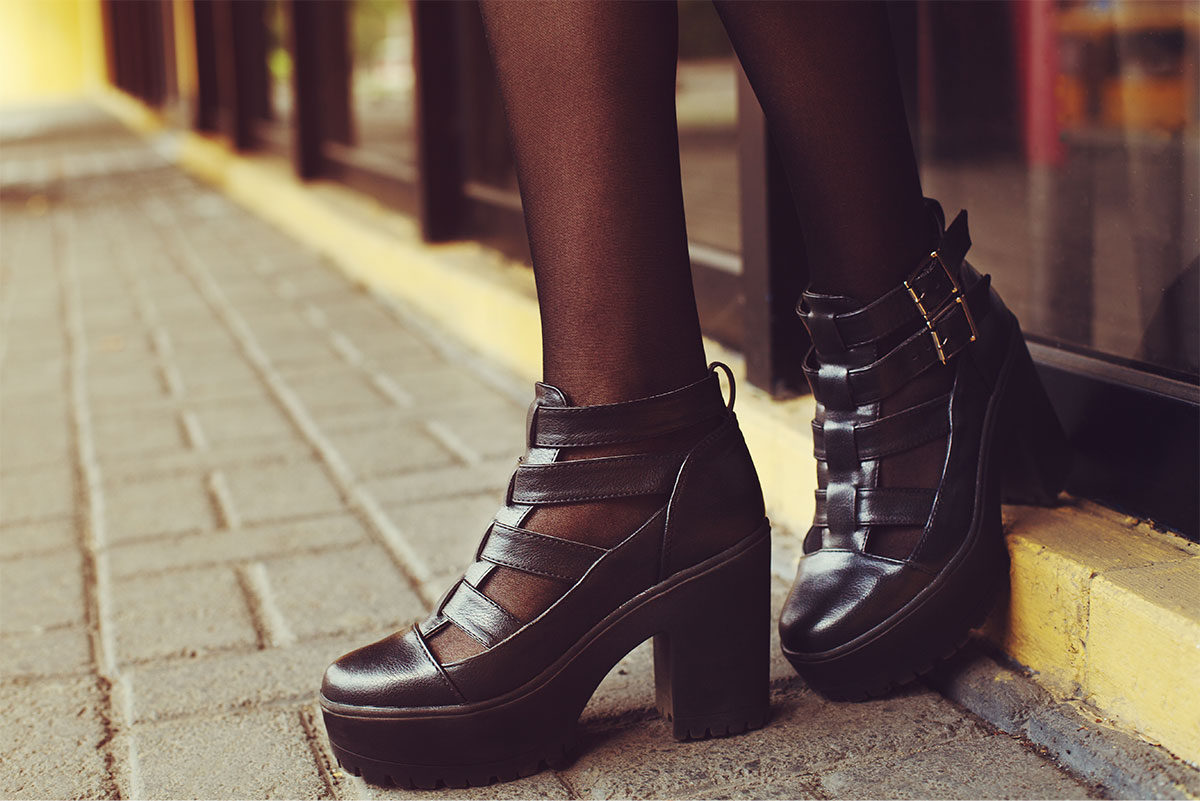 sandali in inverno