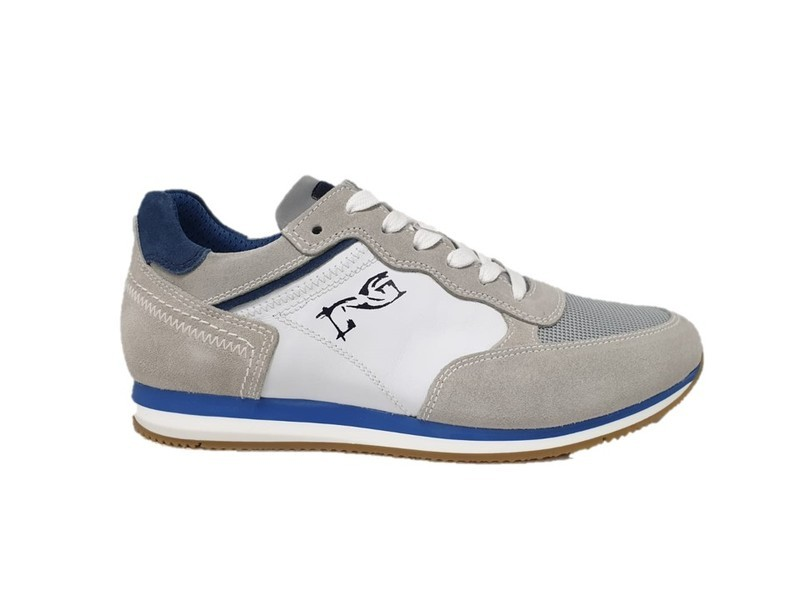 33a5a0a8483f8 Nero Giardini sneaker uomo made in Italy 900950 ghiaccio - Calzature Mai