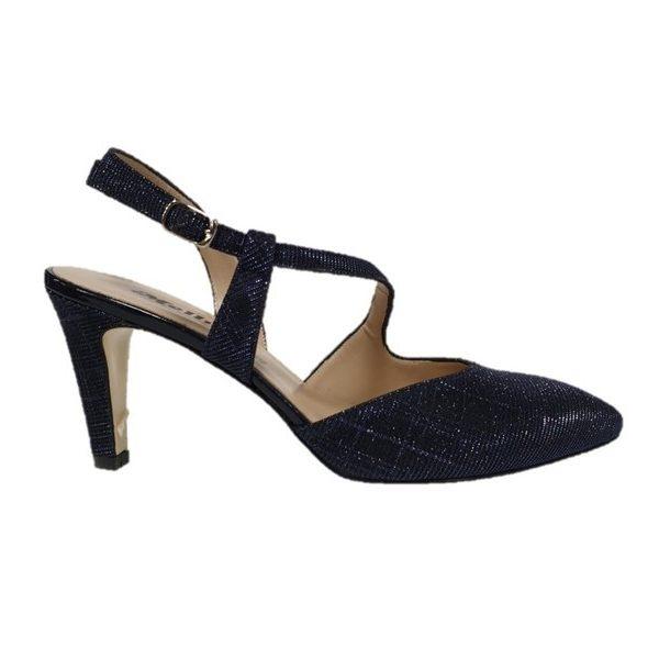 new products 7559d 9d6fa Melluso scarpa tacco donna e1602f blu