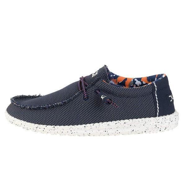 383c1780ae7fd Hey Dude shoes wally sox blue multi - Calzature Mai