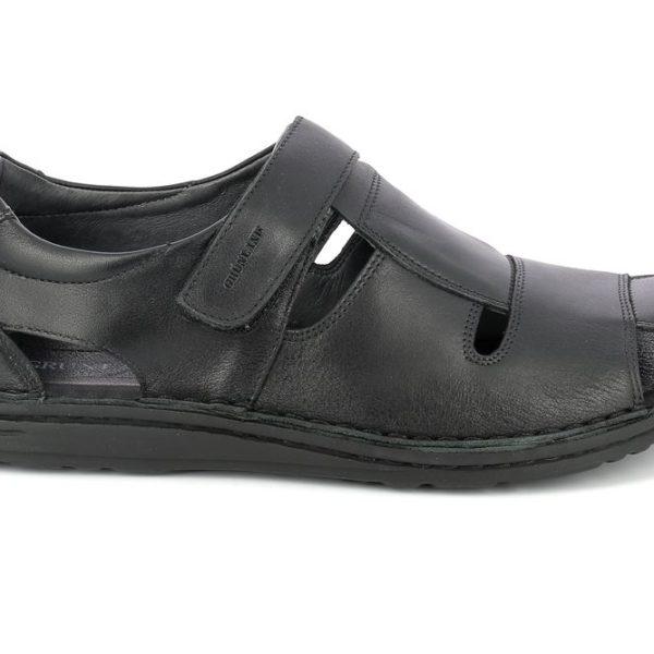Grunland sandali uomo lapo sa1515 nero